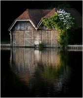 Pair Of Boathouses