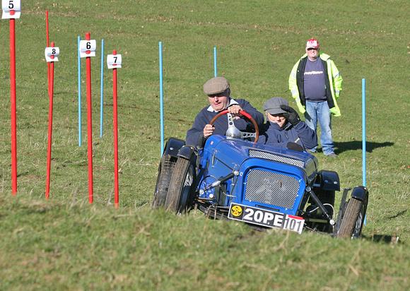 "HSTA ""Car Trials"" Historic Sporting Trials Association"" Tetbury ""Chavenage Farm"""